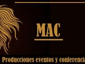 Producciones Eventos y Conferencias MAC