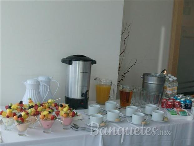 Coffee break desayuno simple