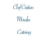 Chef Cristian Morales Catering