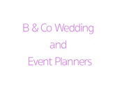 B & Co Wedding and Event Planners
